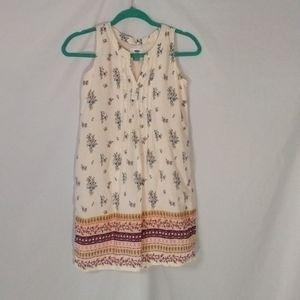 Old Navy girls sz 10-12 floral sleeveless dress